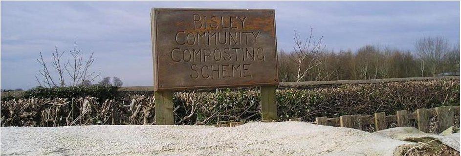 Bisley Community Composting Sign